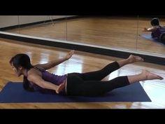 POP Pilates: Back Workout via blogilates.com