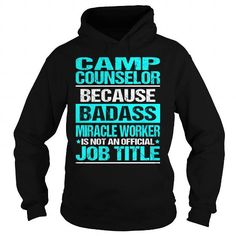 Awesome Tee For Camp Counselor T Shirts, Hoodies. Check Price ==► https://www.sunfrog.com/LifeStyle/Awesome-Tee-For-Camp-Counselor-97584149-Black-Hoodie.html?41382