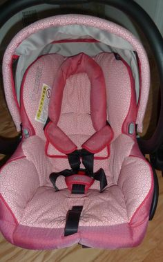 Maxi Cosi Mico Infant Car Seat w/ Base in Lily Pink- (Local Pick Up Available) #MaxiCosi