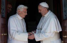 El Papa Francisco reza con Benedicto XVI por Jornada Mundial de la Juventud Rio 2013