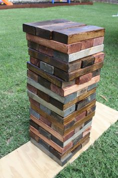 beer tasting party/ giant lawn Jenga/ husbands birthday party ideas