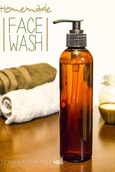 5 Homemade Face Wash Recipes homemade face wash - homemadeforelle cup vegetable glycerine 1 tbsp honey (raw and local is best) 1 tbsp liquid castile soap Homemade Face Wash, Homemade Skin Care, Homemade Beauty Products, Diy Skin Care, Homemade Face Cleanser, Homemade Scrub, Glycerin, Facial Wash, Dyi Facial