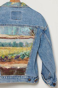 Kunstenaar Jacket, Cabbage Field #anthropologie