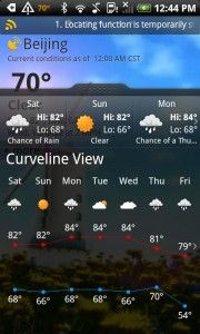 Best Weather Apps for Android Smartphone