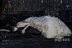 Alexander McQueen unveils its gothic AW14 campaign | Dazed