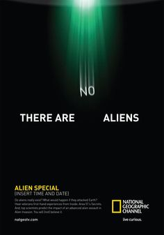 There are no aliens