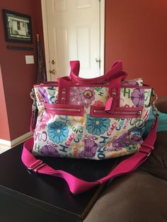 Coach Diaper Bag by VintageFamilyGoods on Etsy https://www.etsy.com/listing/461995171/coach-diaper-bag
