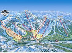 Take A Look At This Mammoth Mountain Trail Map From Mammoth - Mammoth mountain trail map