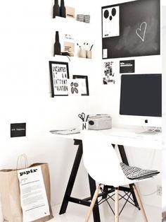 Comment créer le bureau parfait pour travailler à la maison ? - @decocrush