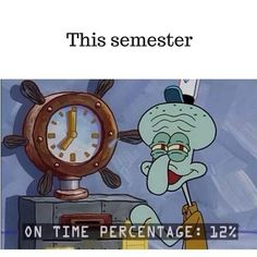 Just in time with this thesis. Procrastination level is high! #thesis #finished #finally #Squidward #spongebob #nowexams #blok #blocus