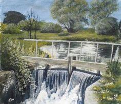'Lincolnshire Locks' by Eira Williams