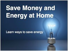 10 Easy Ways to Save Money & Energy in Your Home - InterNACHI - https://www.nachi.org/increasing-home-energy-efficiency-client.htm#utm_sguid=149300,b9089f61-699e-bb85-2735-9a68ea355ddb #HomeEnergySaving