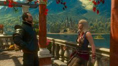 Keira and Lambert in Toussaint #TheWitcher3 #PS4 #WILDHUNT #PS4share #games #gaming #TheWitcher #TheWitcher3WildHunt