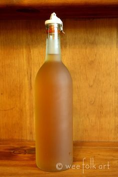 Homemade Butterscotch Liqueur...hmm while the hubby is brewing his beer it's only fair I should try this.