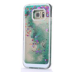 Stars Drifting Sand Design Luxury PC Back Case for Samsung Galaxy S7/S7 Edge(Assorted Colors) 2016 - $8.99