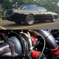 Who Doesn't Love the Buick Grand National - Muscle Car Old School Muscle Cars, Best Muscle Cars, American Muscle Cars, Buick Grand National Gnx, Buick Cars, Gm Car, Cadillac Fleetwood, Buick Regal, Hot Rod Trucks