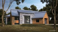 Les maisons métisses Adornetto Farmhouse Architecture, Modern Farmhouse Exterior, Modern Traditional, Traditional House, Lac Champlain, Black House, Modern House Design, My Dream Home, Building
