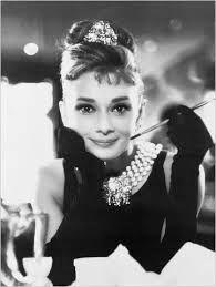 breakfast at tiffany's black and white -Audrey Hepburn #cwfilmnight