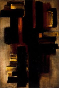 Pierre Soulages  Painting 1953