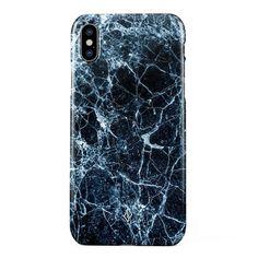 Dark Ice BURGA   Marble iPhone 6, iPhone 7, iPhone 8 & Samsung Galaxy Case