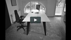 Office Desk Animation! Lern more on our website! #furniture #schreibtisch #office #officedesk #desk #design