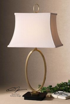 Orpaz Bronze Table Lamp