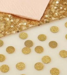 "Streukonfetti ""Pastel Perfection"" - gold - 14 g"