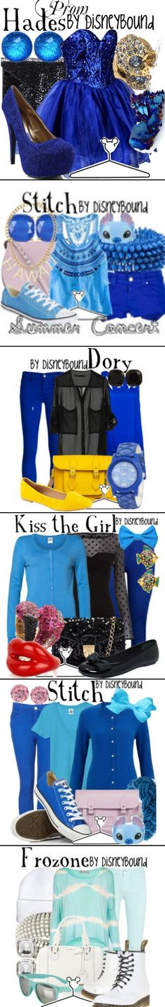 disneybound @ polyvore.com I love the Frozen