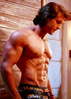 Hrithik Roshan Sexy Body Without Shirt
