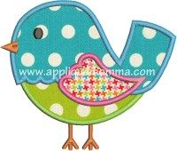 Bird Applique Design