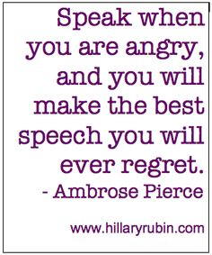 Do You Repress Your Anger?  by Hillary Rubin