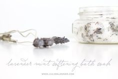 How to make bath salts - the natural way to soften your skin