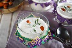 Soğuk Badem Çorbası Panna Cotta, Almond, Pudding, Cooking, Ethnic Recipes, Desserts, Soups, Medicine, Food Food