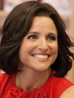 Julia Louis-Dreyfus (Veep), 2014 Primetime Emmy Nominee for Outstanding Lead Actress in a Comedy Series