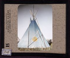 The amazing decorative art of the Native American home- Photos of the Blackfoot Tipis