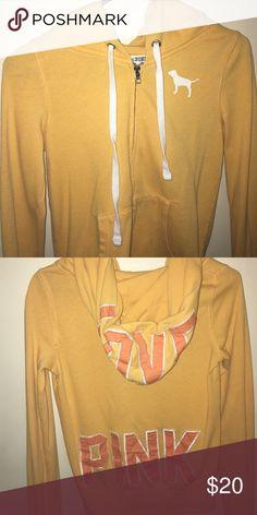 Orange VS pink sweatshirt size S 🌸VS PINK sweatshirt!!                                          🌸Size small PINK Victoria's Secret Tops Sweatshirts & Hoodies