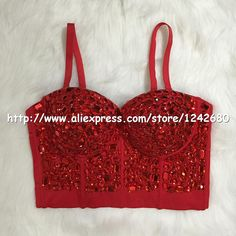 Original Hand made Beaded Gaga Rhinestone Bustier Pearls Push Up Night Club Bralette Women's Bra Cropped Top Vest Plus Size-in Camis from Women's Clothing & Accessories on Aliexpress.com | Alibaba Group