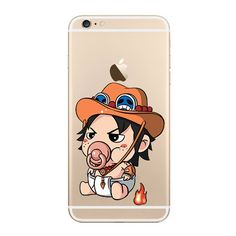 [ Portgas D Ace ] PACIFIER SERIES FOR PHONE