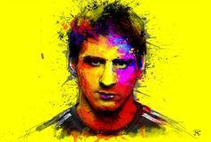 Messi splash