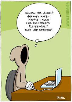 Thema personalisierte Werbung bei Ruthe.de