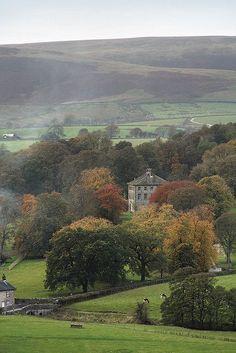 Townhead, Slaidburn, Hodder Valley, Lancashire, UK pinning simply for use of explaining the English countryside Lake District, Beautiful World, Beautiful Places, Nature Verte, British Countryside, Belle Photo, Beautiful Landscapes, Places To See, Scenery