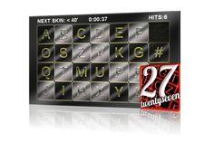 Twenty Seven es un juego de rompecabezas para Android donde tienes que agrupar las letras del alfabeto en el mejor tiempo posible.