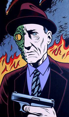 Charles Burns - 23 (William S. Burroughs) by Aeron Alfrey, via Flickr Space Ghost, Illustrations, Illustration Art, Burns, Pop Art, Comics Vintage, Shetland, Comic Manga, Design Graphique