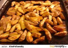 Pečené brambory v troubě recept - TopRecepty.cz