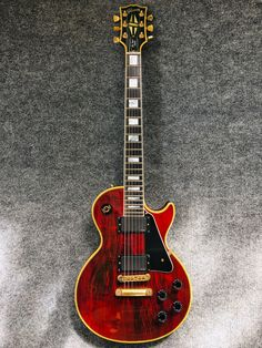 My Wine Red Gibson Les Paul Custom with a different color background. My Wine Red Gibson Les Paul Custom with a different color background. Gibson Les Paul Supreme, Gibson Les Paul Slash, Gibson Les Paul Sunburst, Gibson Les Paul Tribute, 1959 Gibson Les Paul, Gibson Les Paul Studio, Les Paul Custom, Epiphone Les Paul, Les Paul Standard