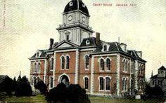 Taylor County has had four courthouses:  1972 (Abilene)  1914 (Abilene)  1883 (Abilene)  1879 (Buffalo Gap)