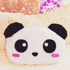 DIY panda pillow ♥