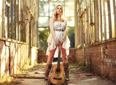 Girl With Guitar Chic Country Style Images 1920x1408.