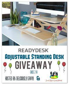 Cassandra M's Place: Readydesk ~ Adjustable Standing Desk Giveaway