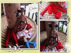 El rincón de Chelo: Muñeca Tilda Primavera